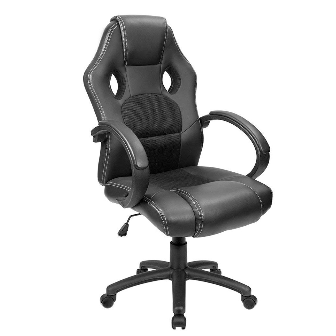 Brilliant Furmax Office Chair Desk Leather Gaming Chair High Back Ergonomic Adjustable Racing Chair Task Swivel Executive Computer Chair Headrest And Lumbar Ncnpc Chair Design For Home Ncnpcorg